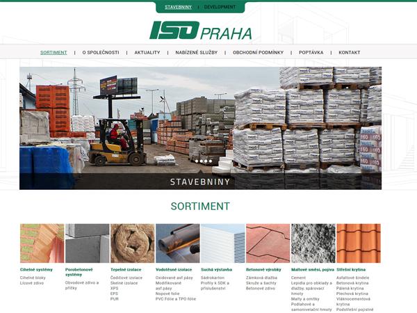 ISO Praha - stavebniny