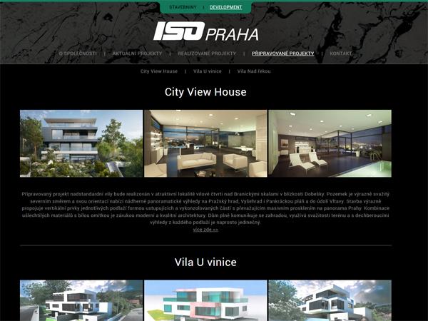 ISO Praha - development