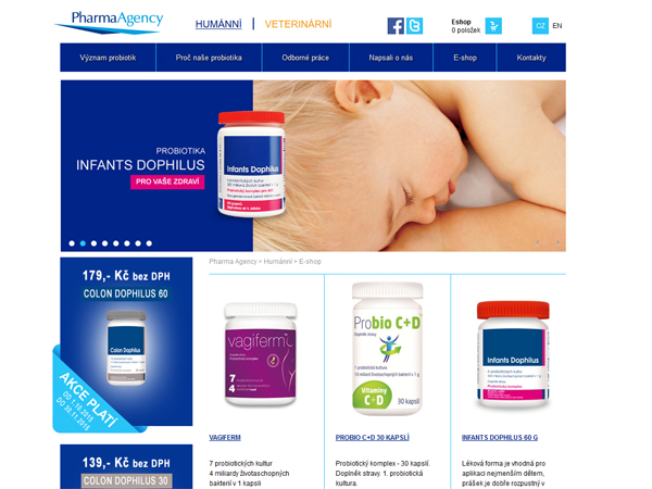 E-Shop Pharmaagency