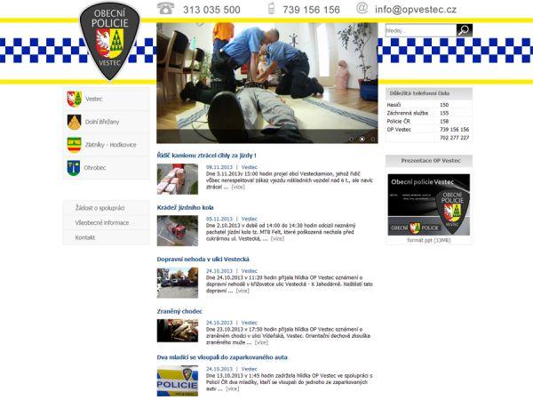 Obecní policie Vestec