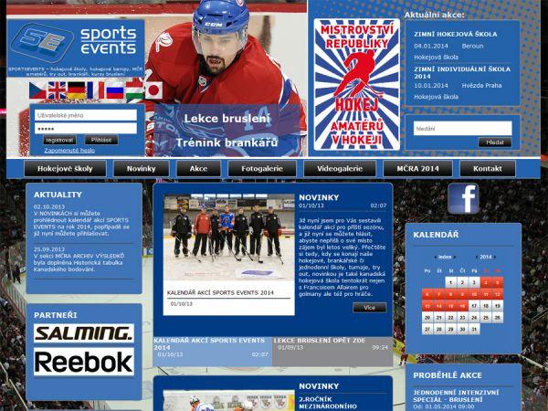 Hokejová škola SportsEvents